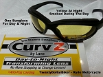 Curvz Transtional Yellow to Smoke Lense - Day Night Sunglasses